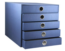 pigeon drawer box for organizing office documents and files